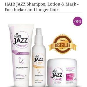 Hair jazz hair growing shampoo/condition set